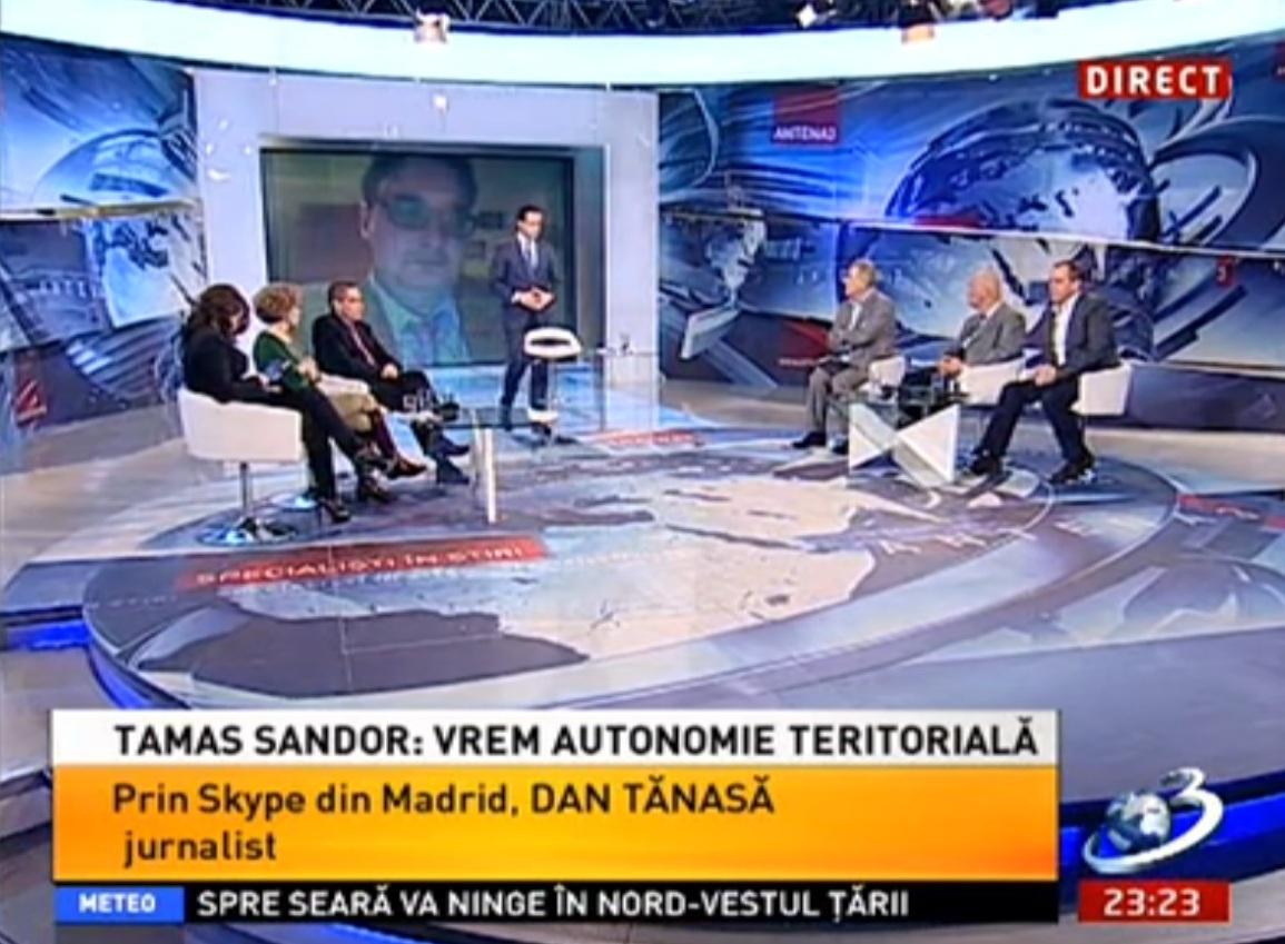 Tamas Sandor Antena 3