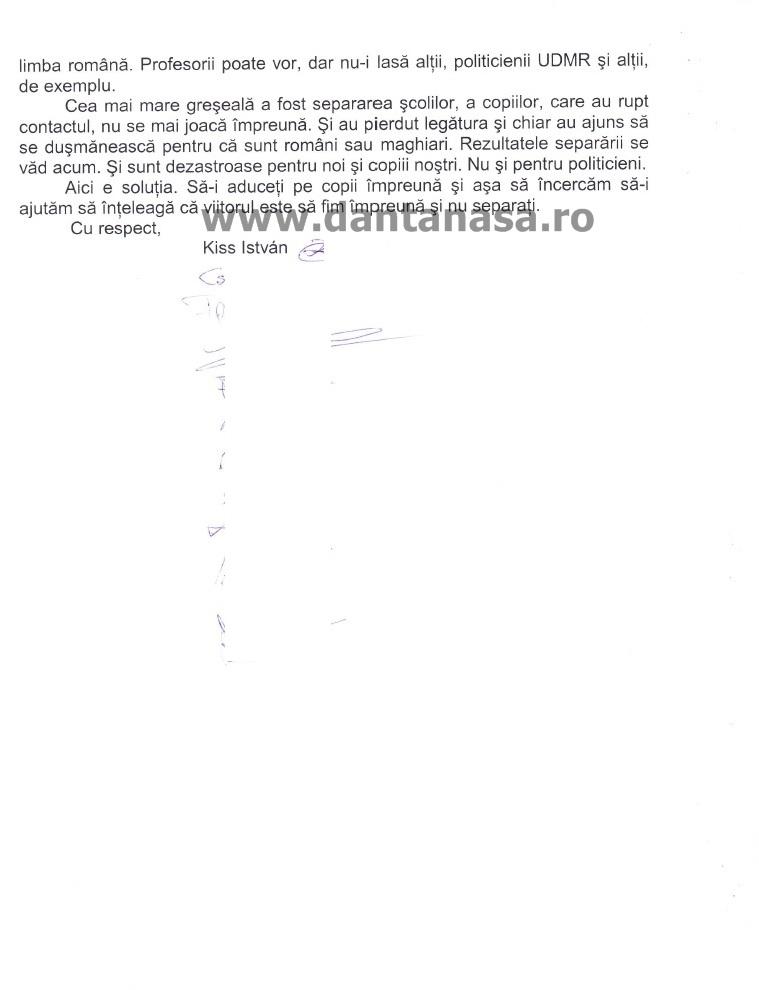 Petitie segregare scoli parinti Harghita 1