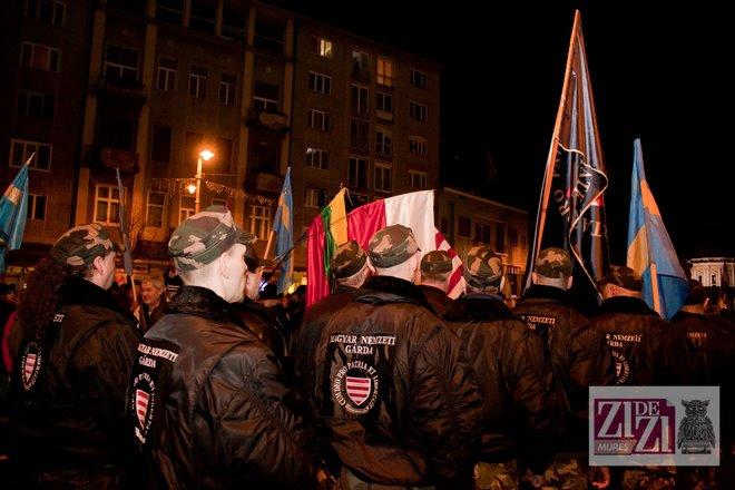 Garda maghiară fascistă la Tg Mures