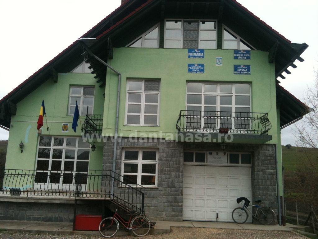 Primăria Sărățeni după sesizarea mea adresată Prefecturii Mureș