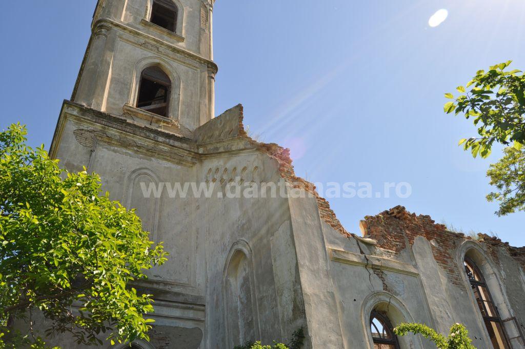 Biserica germana Malcoci Tulcea lateral dreapta