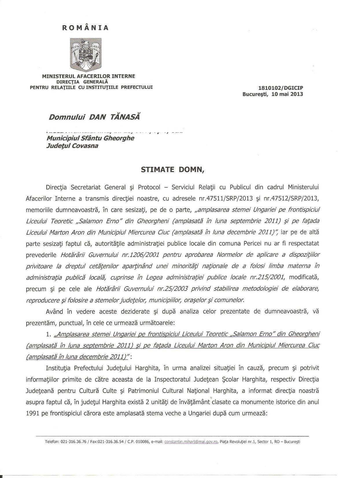 MAI steme Ungaria scoli Harghita Victor Ponta UDMR Ungaria Mare