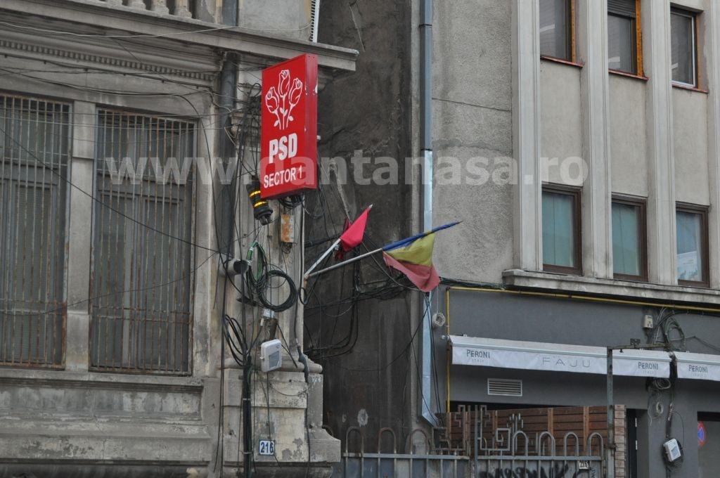 Sediul filialei PSD Sector 1 din București