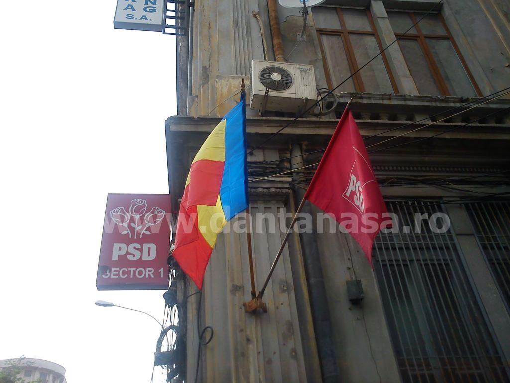 PSD Sector 1 drapelul Romaniei schimbat Dan Tanasa