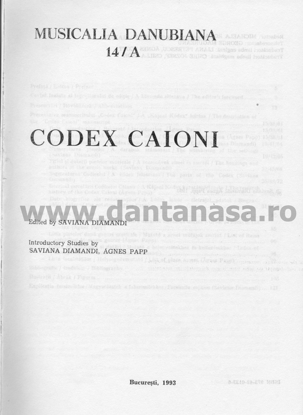 Codex Caioni Ioan Caianul 1