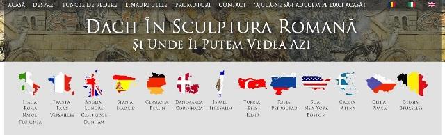 Dacii în sculptura romană www.statuidedaci.ro