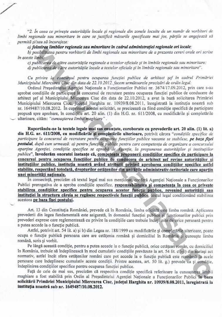 Proces Guvernul Victor Ponta ANFP CNCD Forumul Civic al Romanilor din Covasna Harghita Mures 4