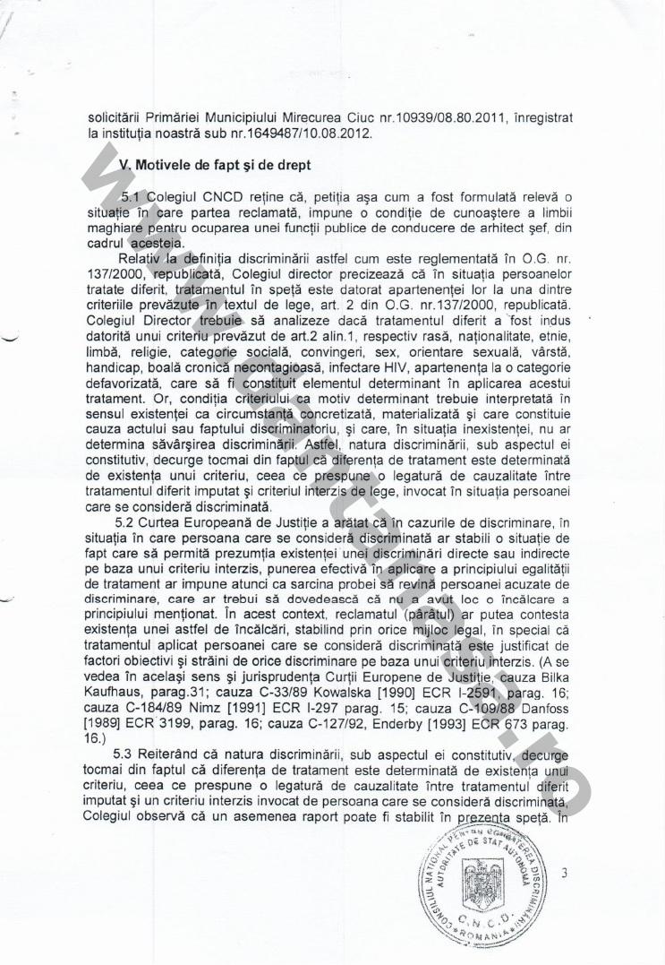 Proces Guvernul Victor Ponta ANFP CNCD Forumul Civic al Romanilor din Covasna Harghita Mures 8