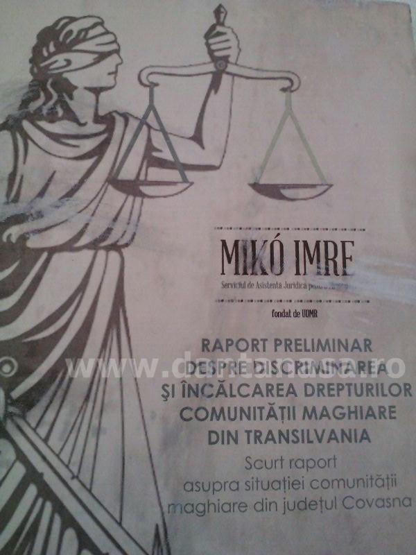"""UDMR a întocmit un """"raport"""" defăimător la adresa României"""