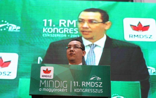 Victor Ponta la congresul UDMR din mai 2013