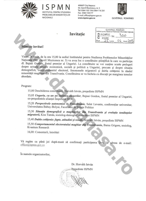 Guvernul Romaniei Institut Minoritati autonomie maghiari alegeri Ungaria