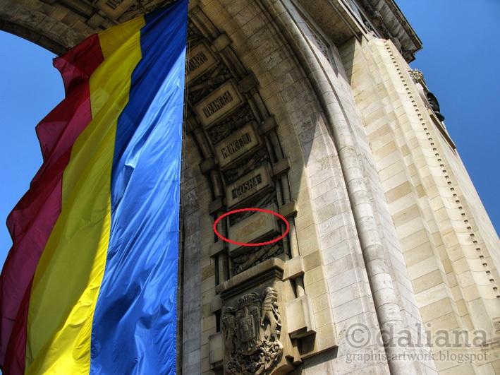 arcul-de-triumf-Arc-de-Triomphe-bucuresti-photographis-Arco-del-Triunfo-cu-Budapesta-rasa