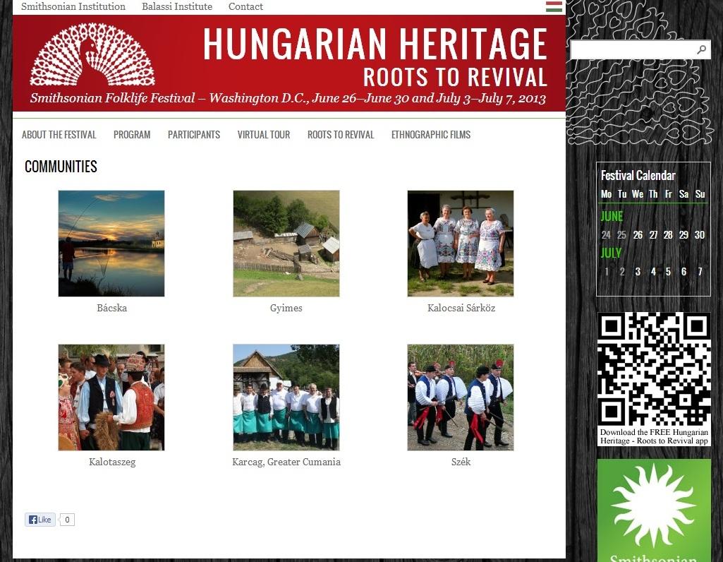 comunitati din Romania festival Ungaria SUA