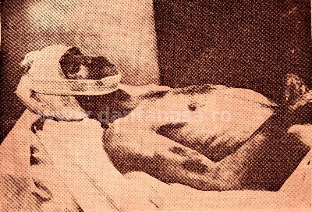 Ianculești, jud. Satu Mare, octombrie 1940. Țăranul român Petre Oneț, schingiuit și ucis de honvezi unguri