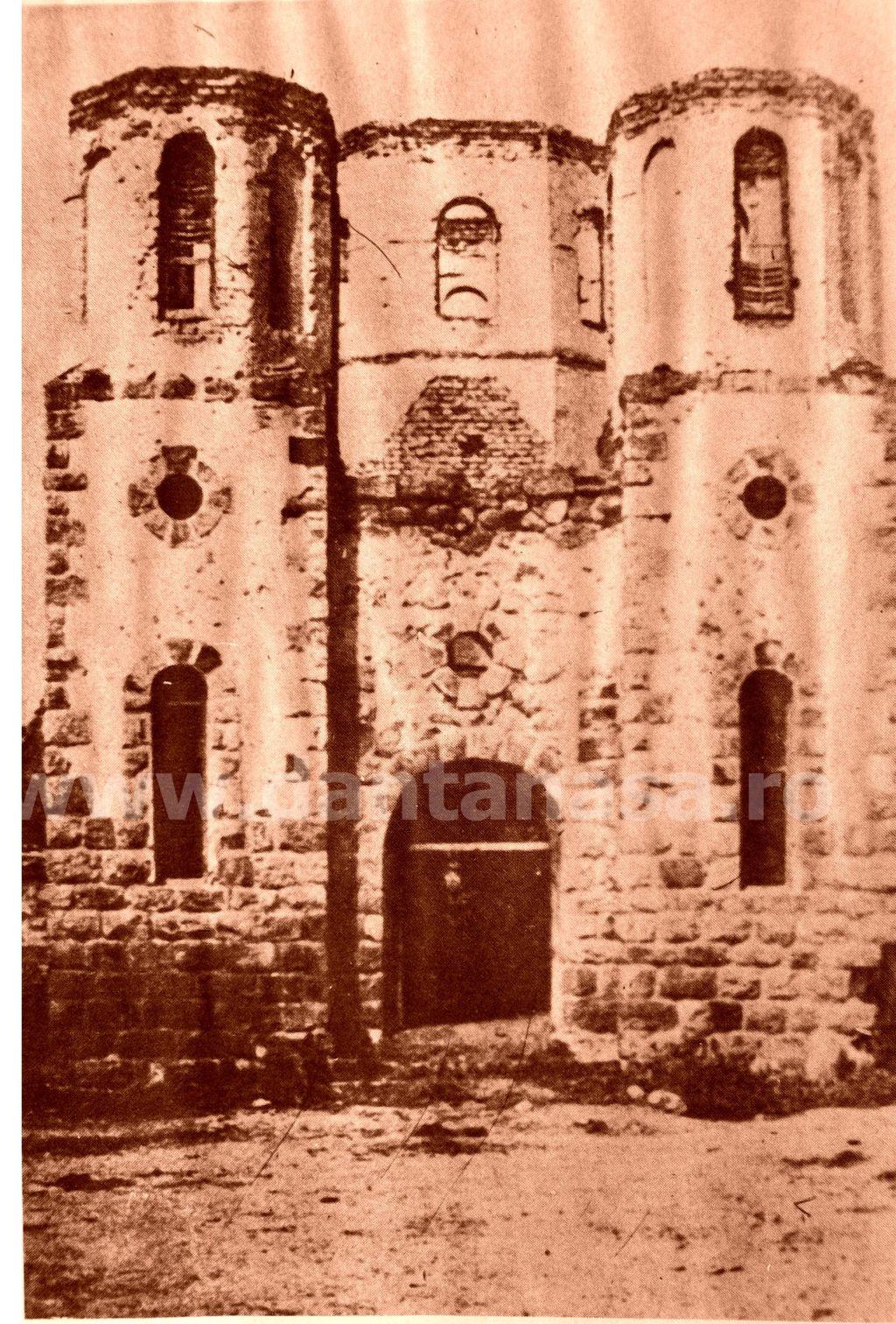 Herculian (azi în jud. Covasna), decembrie 1940. Biserica românească distrusă de unguri