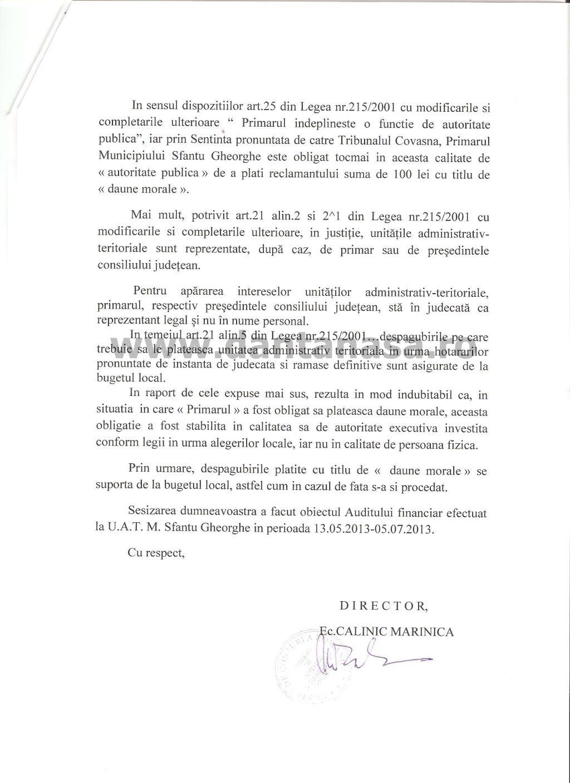 Curtea de Conturi primar Antal Arpad UDMR daune morale Dan Tanasa (2)