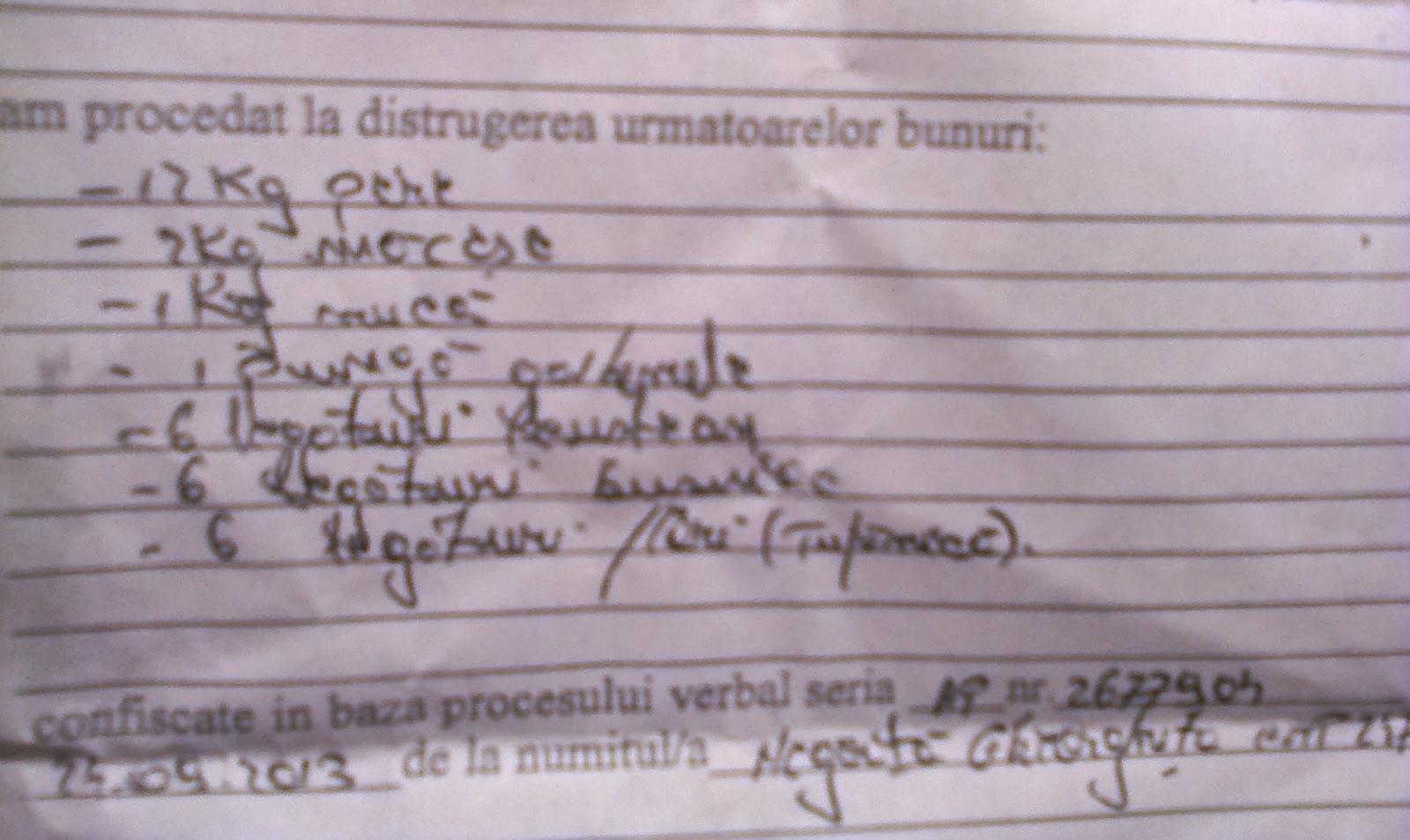 Ordinea pe care înțeleg autoritățile să o exercite în raport cu România reală (Cotidianul, 28 sept.)