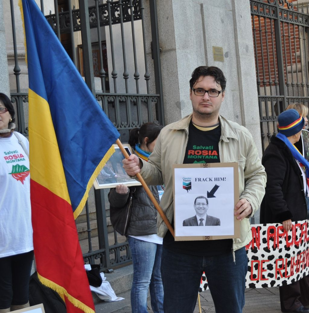 Chevron frack Victor Ponta Madrid