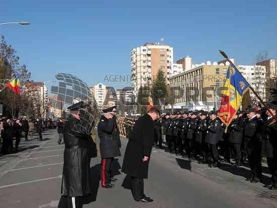 1 decembrie 2013, Miercurea Ciuc. Prefectul Jean-Adrian Andrei la manifestările dedicate Zilei Naționale