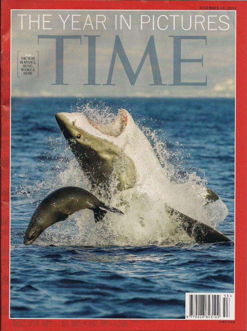 Last printed issue of TIME I received in 2013