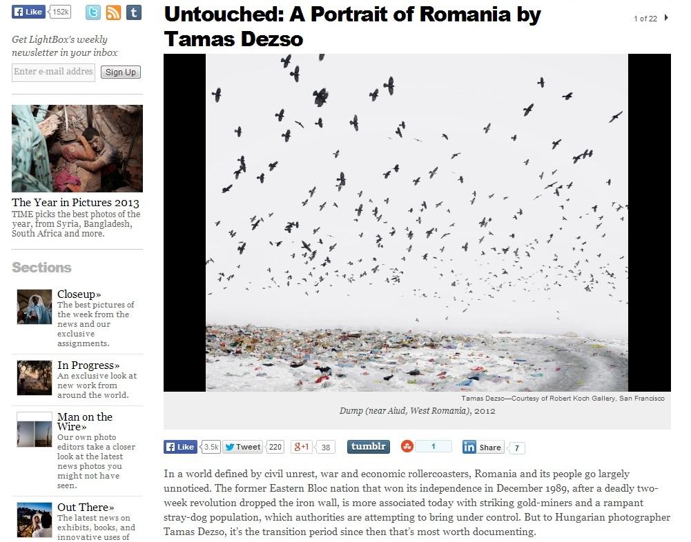 TIME magazine Romania Tamas Dezso Andrew Katz