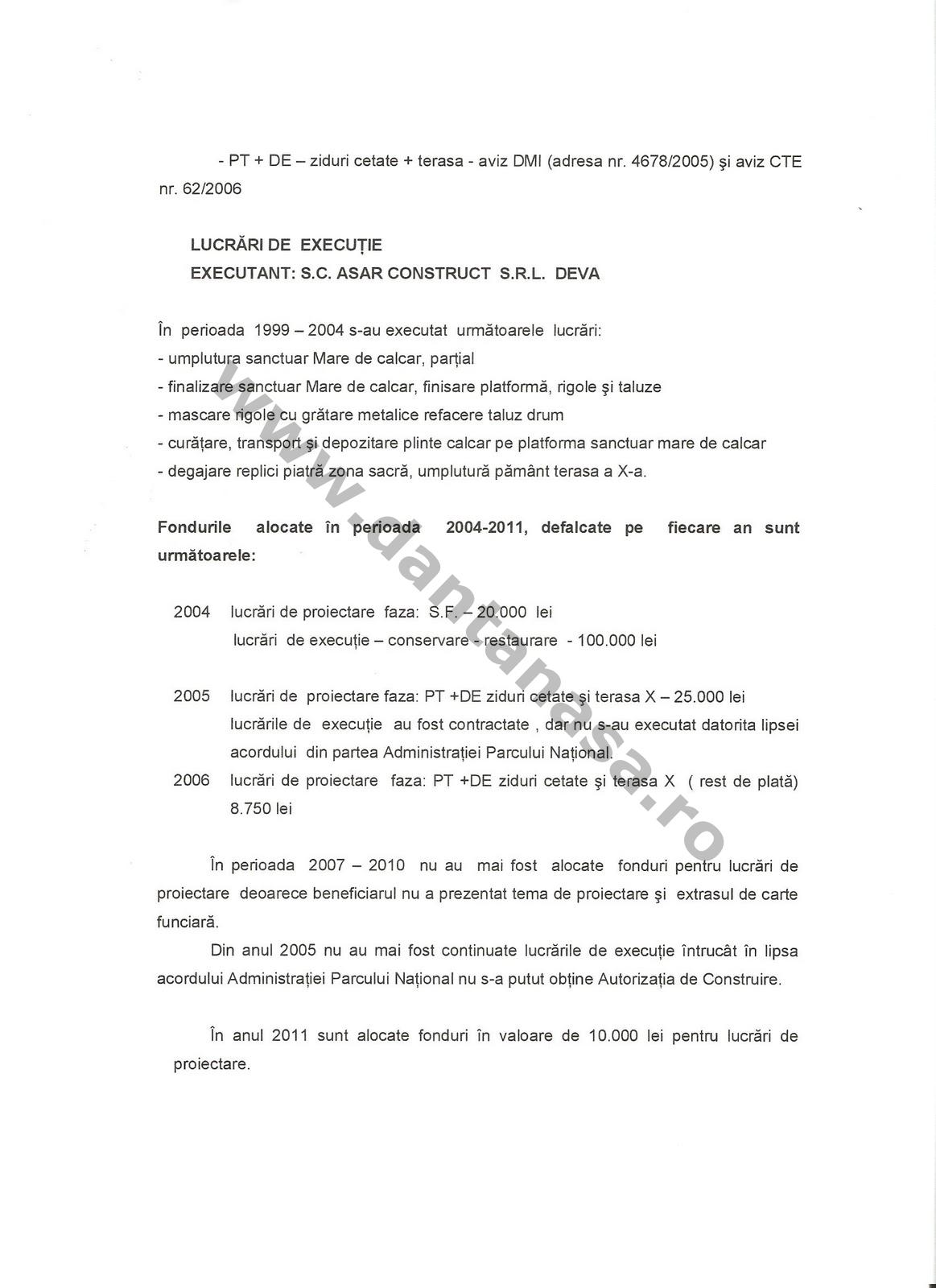 Kelemen Hunor fonduri Sarmizegetura Regia 2