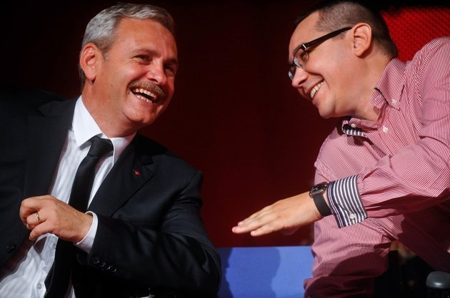 Liviu Dragnea și Victor Ponta (FOTO: gandul.info)