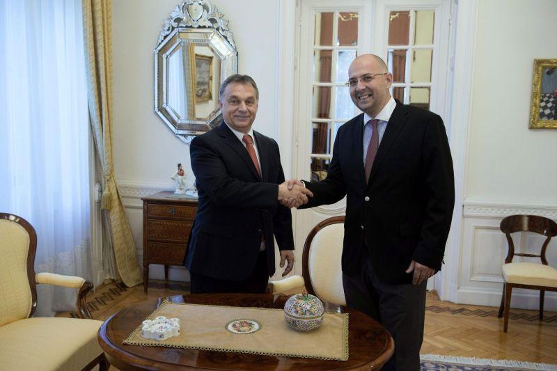Viktor Orban, premierul Ungariei, și Kelemen Hunor, președintele UDMR (FOTO: maszol.ro)