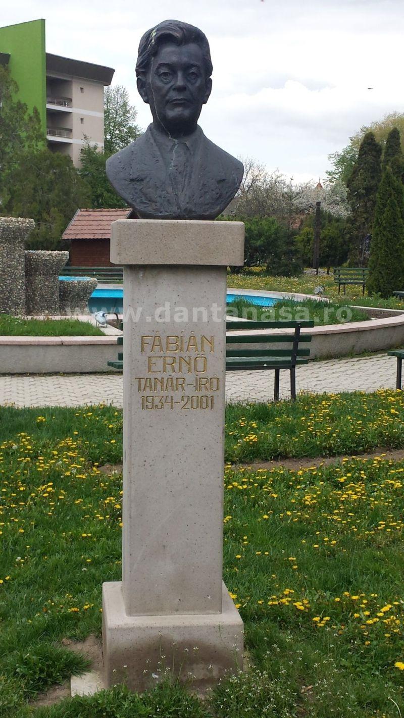 monument fabian erno covasna limba maghiara