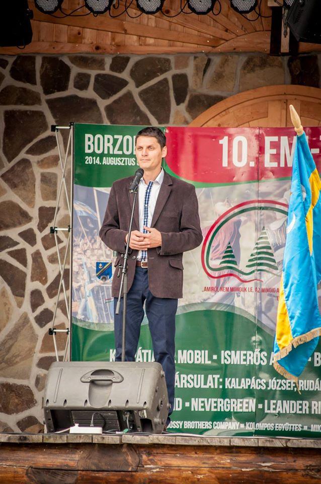 Gall Szabolcs tabara Borzont UDMR Jobbik