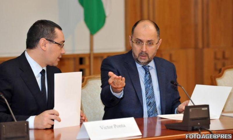 Victor Ponta și Kelemen Hunor (FOTO: agerpres.ro)