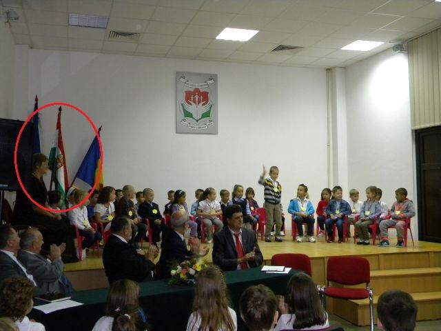 """15 septembrie 2014, Arad. Început de an școlar la Colegiul """"Csiky Gergely"""" (FOTO: aradihirek.ro)"""