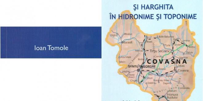 Românii din Covasna şi Harghita în hidronime şi toponime
