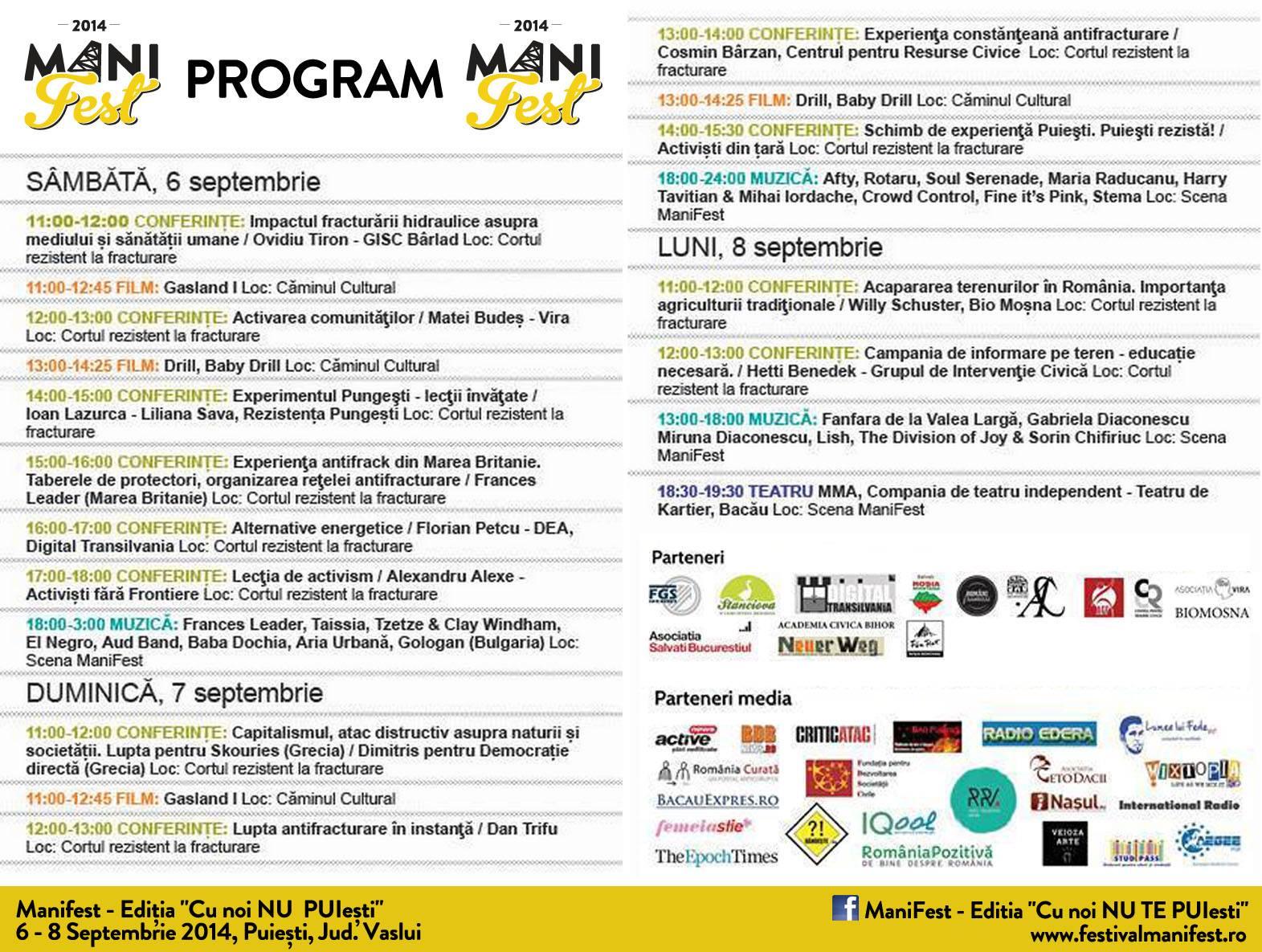program festival puiesti vaslui