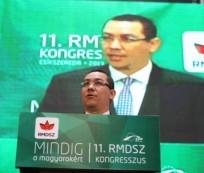 Premierul Victor Ponta la congresul UDMR din mai 2013