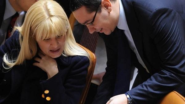 Tăcerea Elenei Udre îi convine de minune lui Victor Ponta (FOTO: realitateamea.ro)