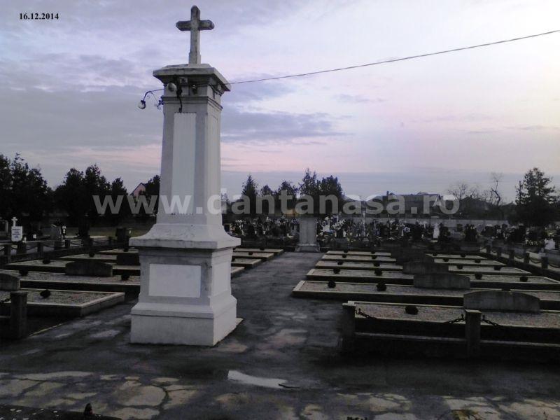 Cimitir Carei Eroi Romani decembrie 2014