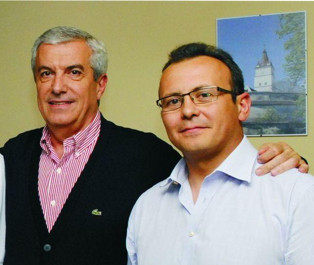 Mădălin Guruianu, dreapta (FOTO: blogul lui Guruianu)