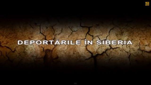 documentar deportarile romanilor basarabeni in Siberia