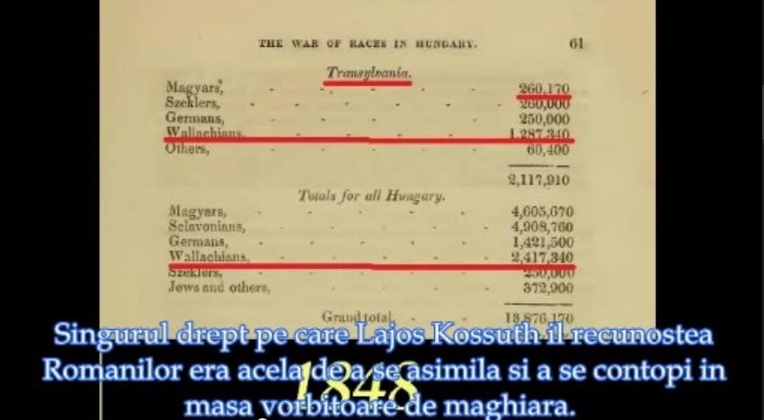 istoria romaniei revolutia 1848 genocid romani Transilvania