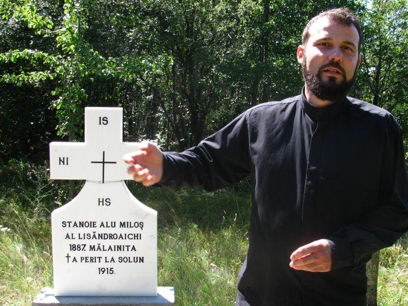 Părintele Boian Alexandrovic (FOTO: cititulnudoare.ro)
