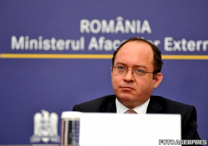 Bogdan Aurescu, Romanian Minister of Foreign affairs