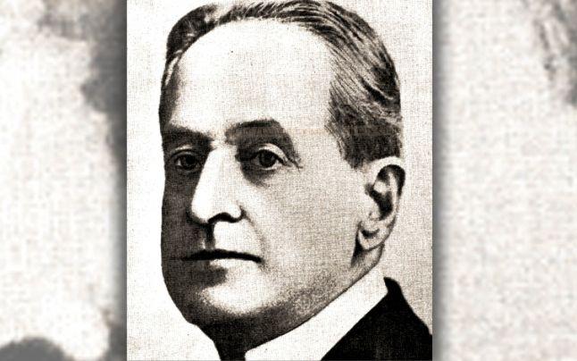 Portretul lui Vasile Stroescu pe coperta revistei Universul Literar din noiembrie 1928 FOTO dspace.bcucluj.ro