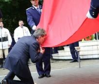 mircea dusa drapel romania miercurea ciuc iunie 2015