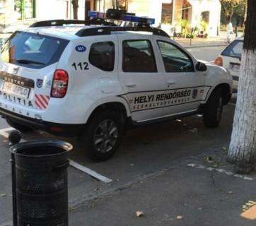 masina politie locala odorheiul secuiesc limba maghiara