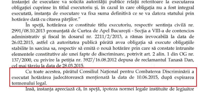 CNCD Csaba Asztalos Ferenc a incalcat legea