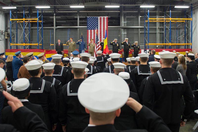 deveselu baza schimbare comanda americana 12 ianuarie 2016 drapel SUA