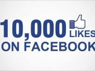10k likes on facebook