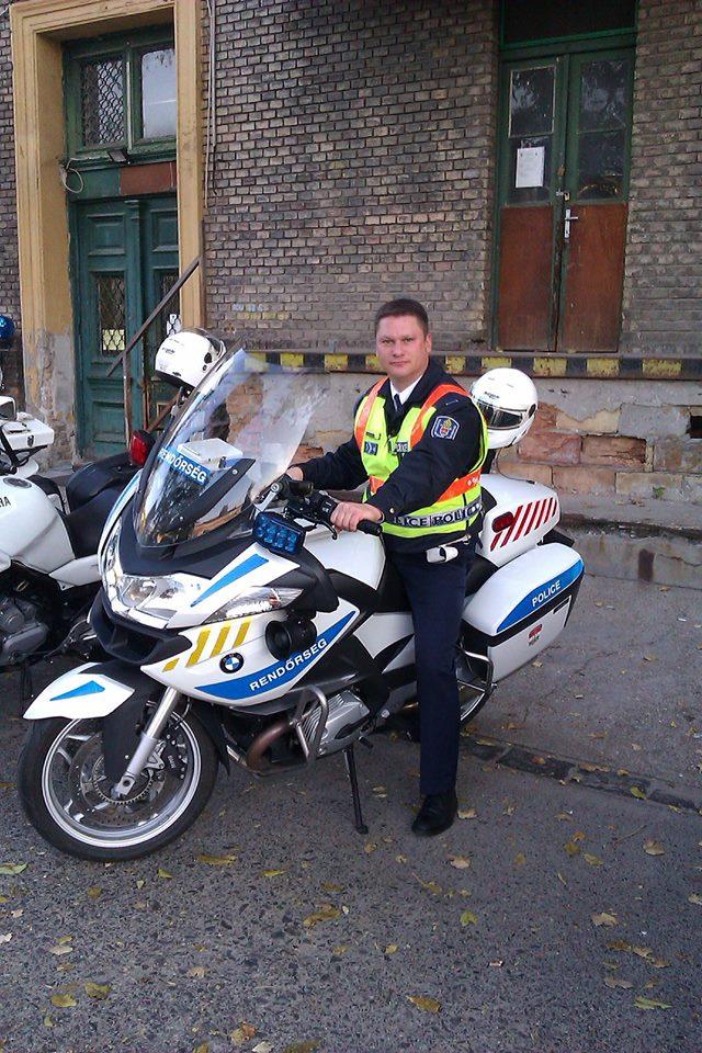 Sandor Bakos politist Budapesta