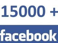 15000 fans facebook